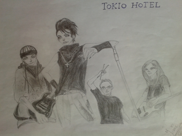 Tokio Hotel by Eirene